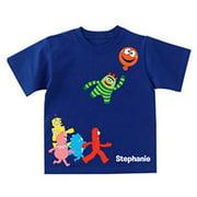 Personalized Yo Gabba Gabba! Balloon Getaway Toddler Boy T-Shirt