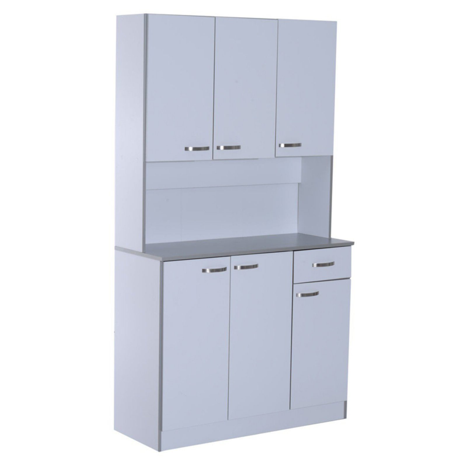 HomCom Microwave Storage Pantry Cabinet - Walmart.com
