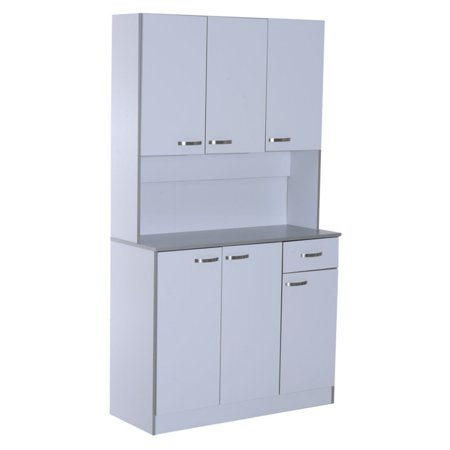 Homcom Microwave Storage Pantry Cabinet