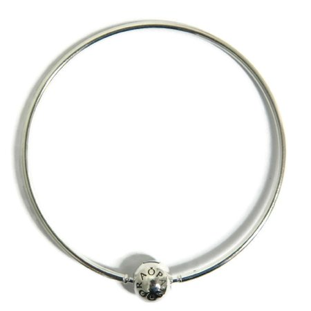 Authentic Essence Collection Bangle Bracelet 596006-20, 7.9 in (Contemporary Bangle Collection)
