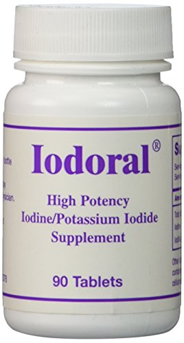 Click here to buy OPTIMOX Iodoral High Potency Iodine Potassium Iodide Thyroid Support Supplement, 90 Count.