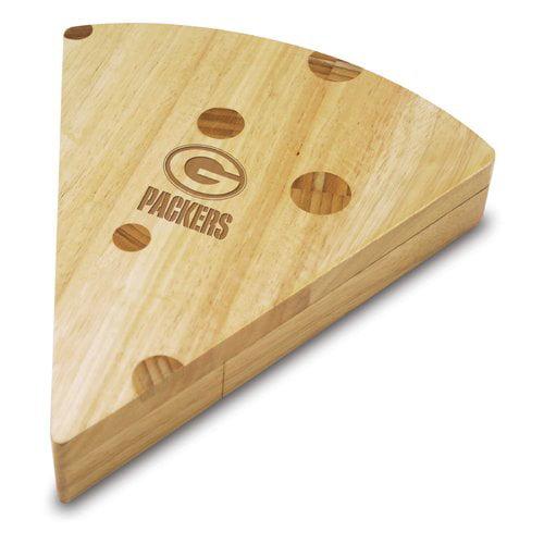 TOSCANA NFL Green Bay Packers Swiss Cheese Board Set