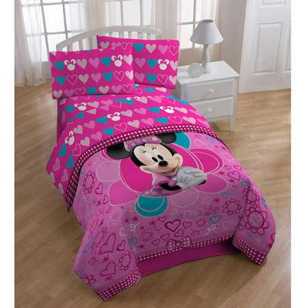 Minnie Mouse Sheet Set Walmart Com