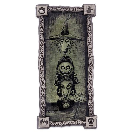 Disney Lock Shock Barrel Haunted Mansion Portrait Pin Nightmare Before - Lock Shock And Barrel Masks