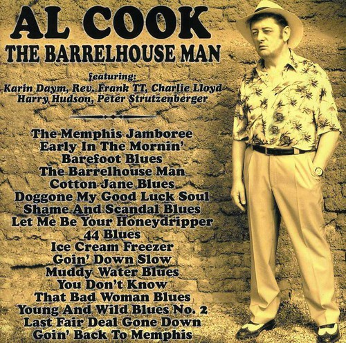 Al Cook - Barrelhouse Man [CD]