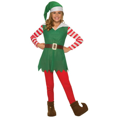 Girls Santa's Helper Costume - Hamburger Helper Costume