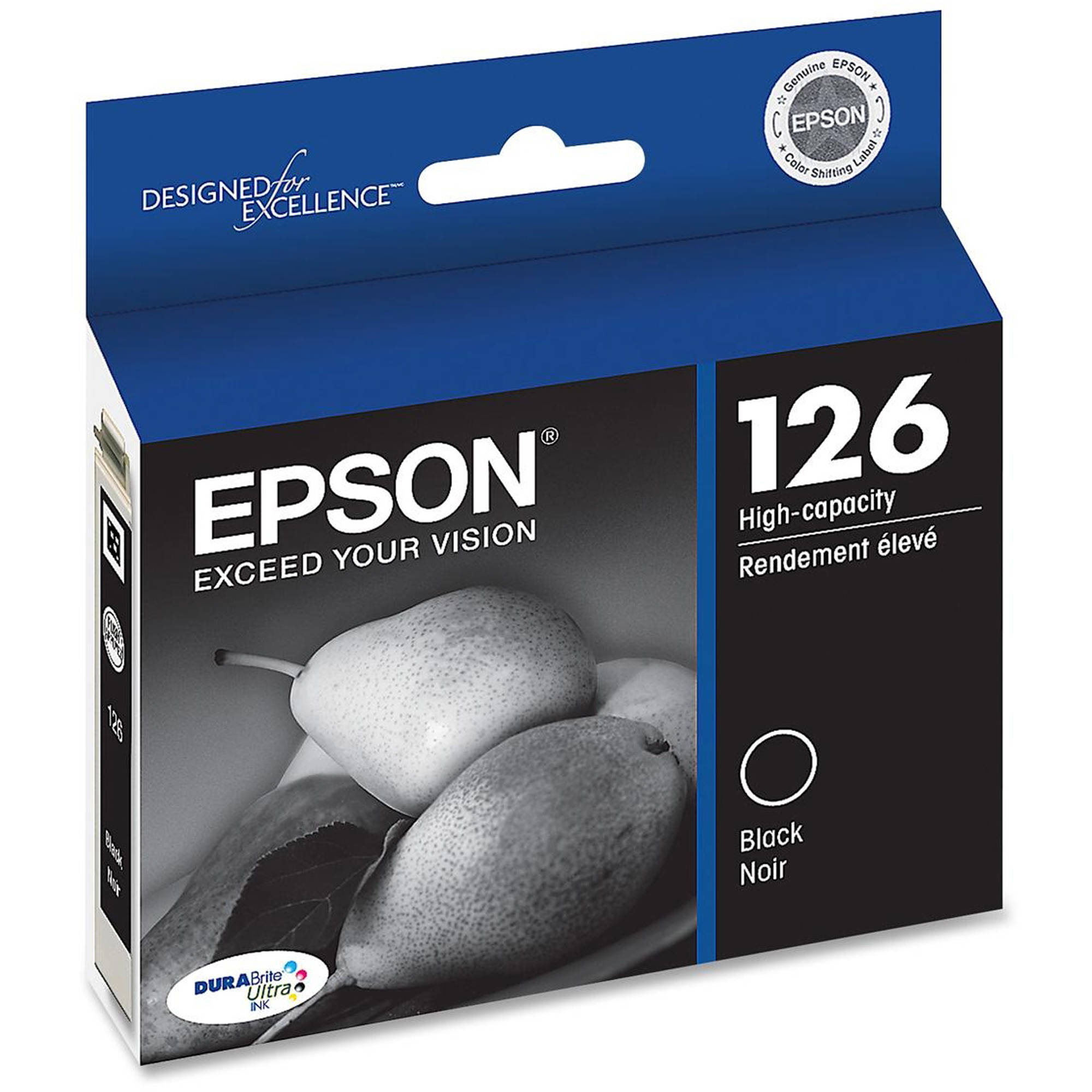 Epson DURAbrite Ultra 126 Black Inkjet Cartridge (T126120)