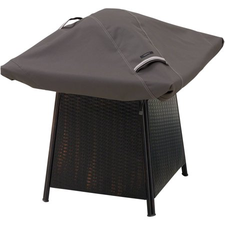 Classic Accessories Ravenna Square Fire Pit Patio Storage Cover, Fits up to 40