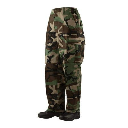1505 Mens BDU Pants, Cotton Rip-Stop, Woodland thumbnail