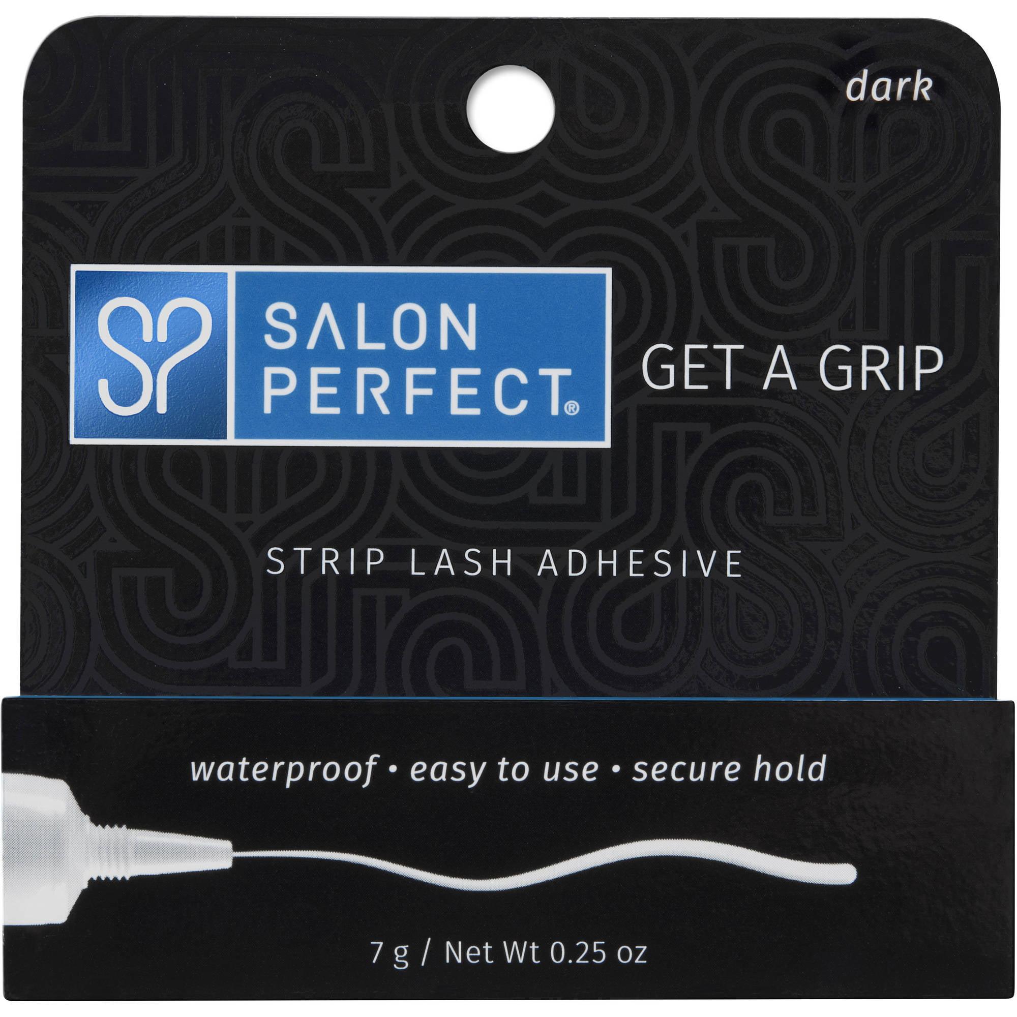 Salon Perfect Strip Eyelash Adhesive Dark 025 Oz Walmart