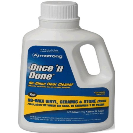 Armstrong Floor Care 330408 Once N Done Gallon Concentrated Cleaner