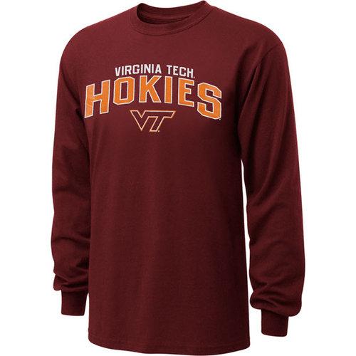 NCAA - Virginia Tech Hokies Maroon Just Gateway Long Sleeve T-Shirt