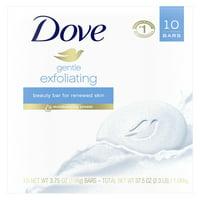 Dove Beauty Bar Gentle Exfoliating 3.75 oz 10 Bars