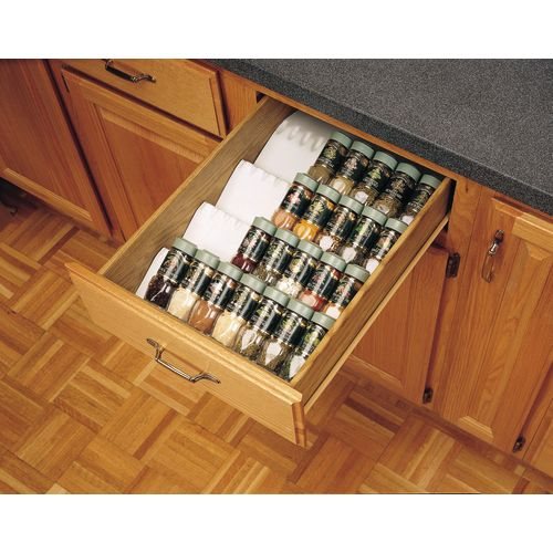 Rev-A-Shelf ST50-21-52 ST50 Series Trimmable Universal Fit Spice Tray