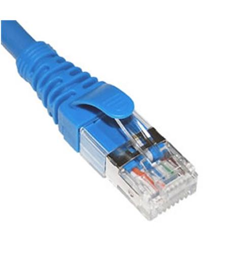 Icc Patch Cord, Cat 6a, Ftp, Blue - Category 6a For Network Device - Patch Cable - 15 Ft - 1 X Rj-45 Male Network - 1 X Rj-45 Male Network - Shielding - Blue (icpcsg15bl)
