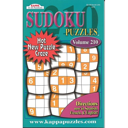 Sudoku Puzzles Volumes vary See sellers for Vol #(Directions in Spanish, French & English), 146 page puzzle book By Kappa Ship from - Spanish Halloween Sudoku