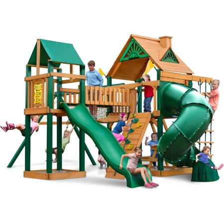 Gorilla Playsets Catalina Wooden Swing Set Walmart Com