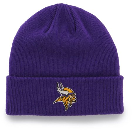 NFL Minnesota Vikings Mass Cuff Knit Cap - Fan Favorite - Vikings Hat With Horns