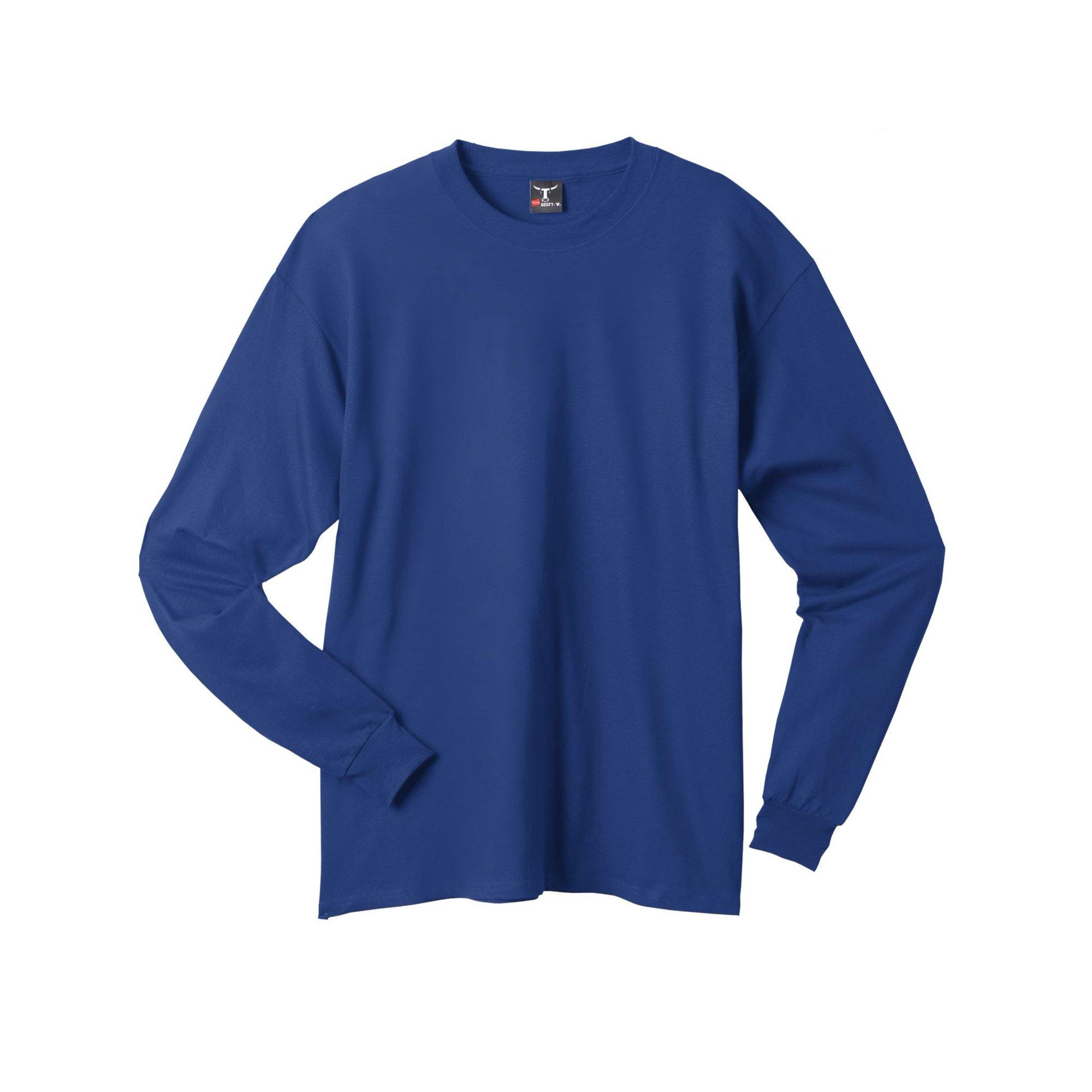 26bbb976389178 Hanes Beefy T Shirts Long Sleeve - DREAMWORKS