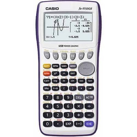 Casio Fx 9750G11 Graphing Calculator