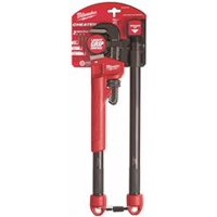 Milwaukee Cheater Adjustable Pipe Wrench