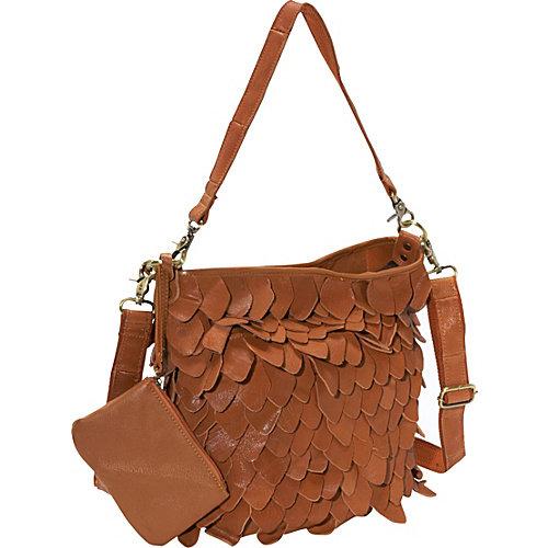 AmeriLeather Junior Hawk Leather Handbag