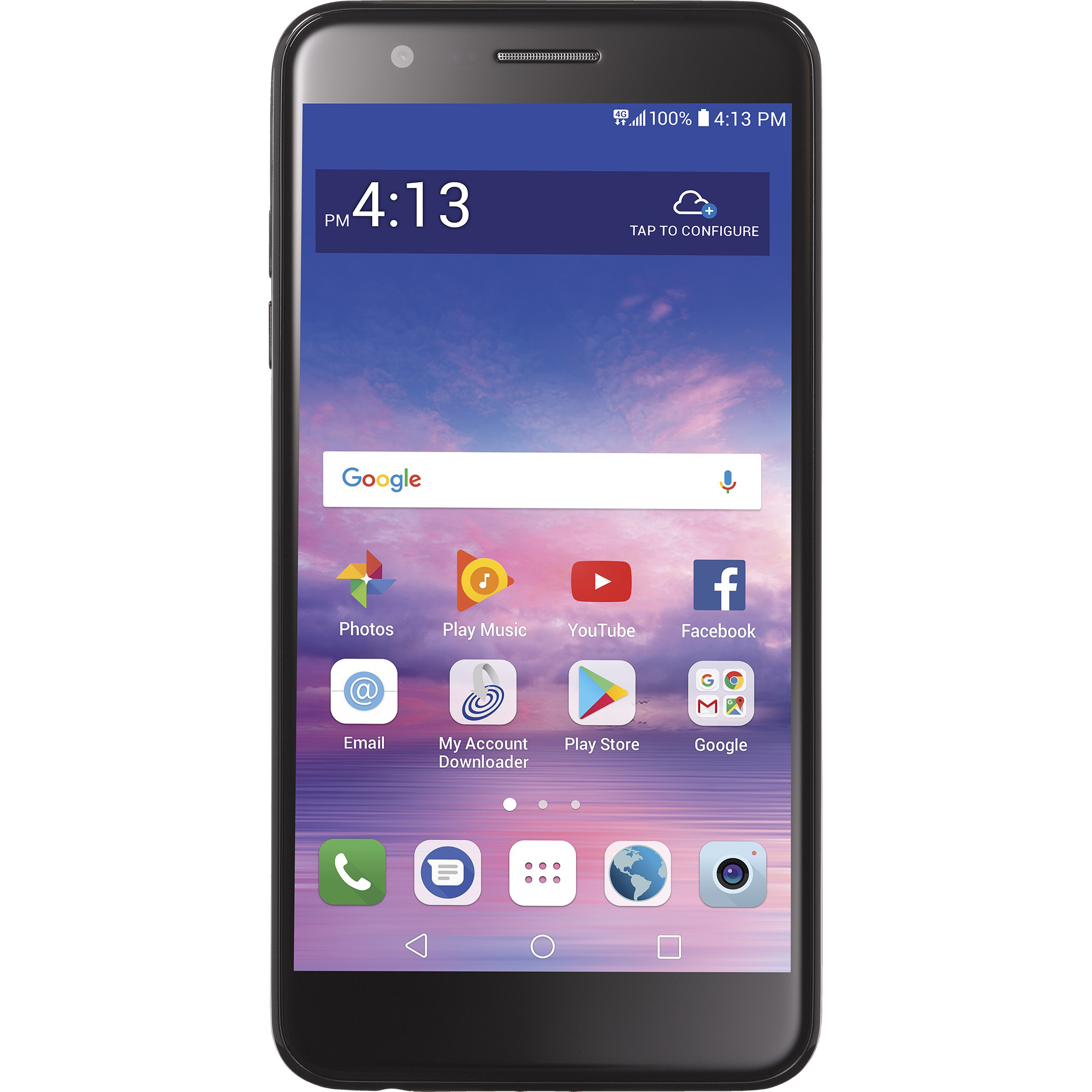 Straight Talk LG Premier Pro Prepaid Smartphone