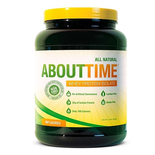 Image of About Time Whey Isolate Protein Powder - 2lb