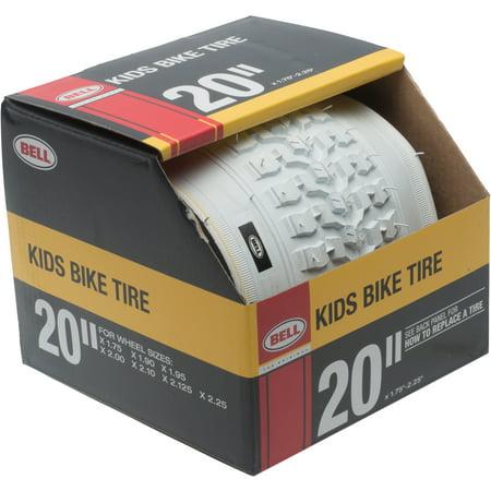 White Bike Tires - Bell Standard Kids Bike Tire, 20