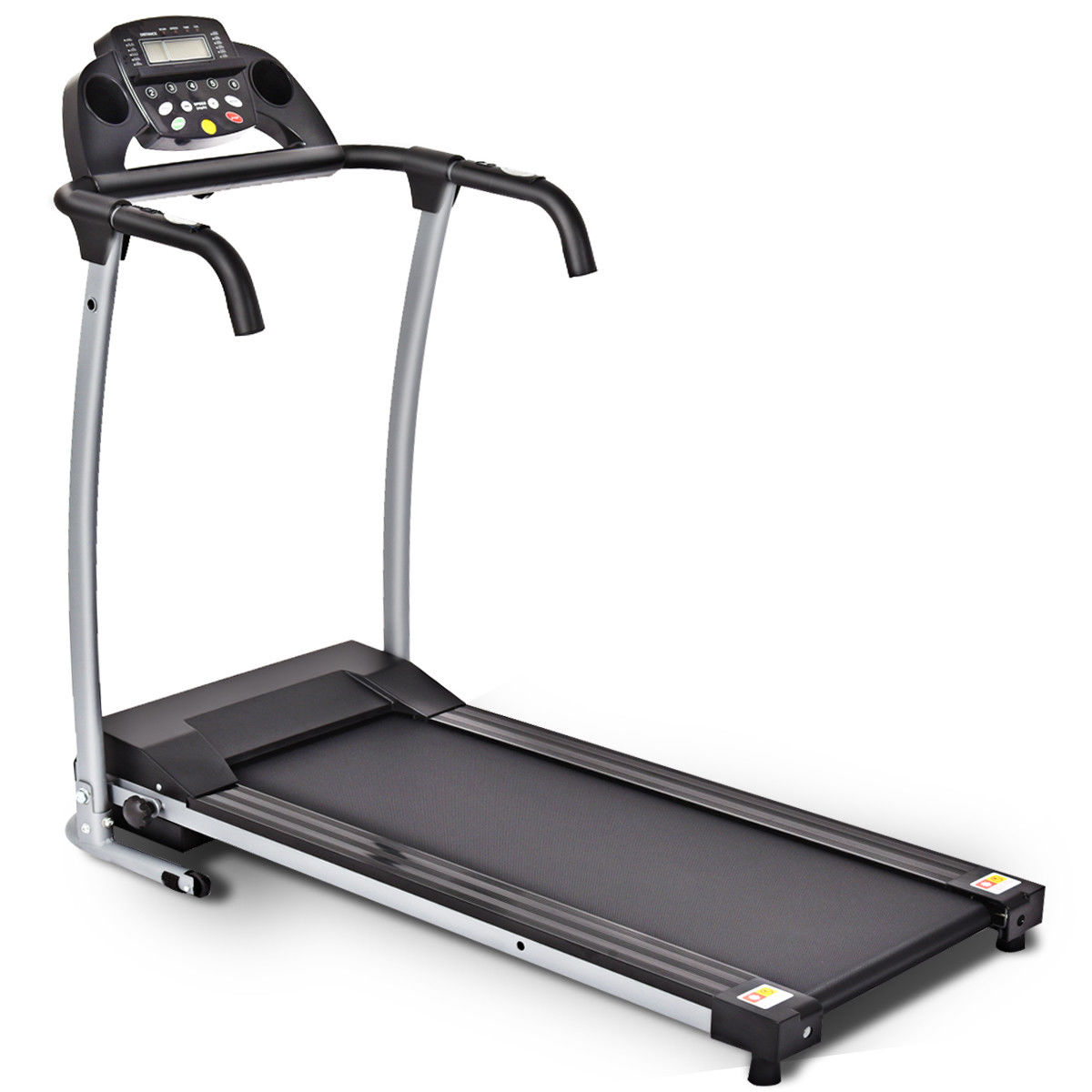 Costway 800W Folding Treadmill Electric Portable Motorized Power Running Fitness Machine w/support