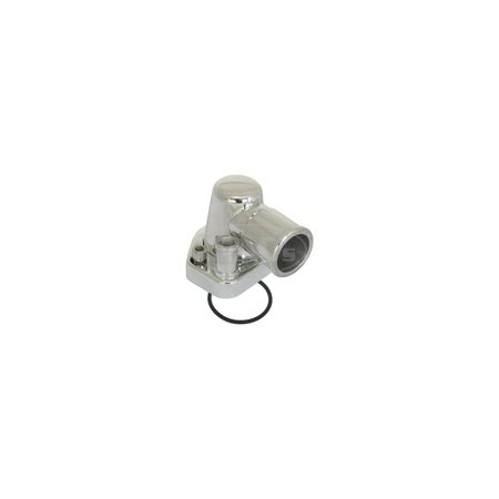 MACs Auto Parts Premier  Products 48-73901 Billet Thermostat Housing, Swivel Housing, Small (Billet Housing)