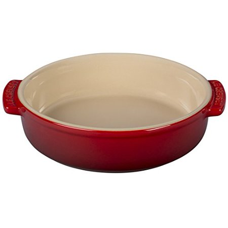 Le Creuset Cherry Stoneware (of America Stoneware Tapas Dish, 17-Ounce, Cerise (Cherry Red) Le Creuset )