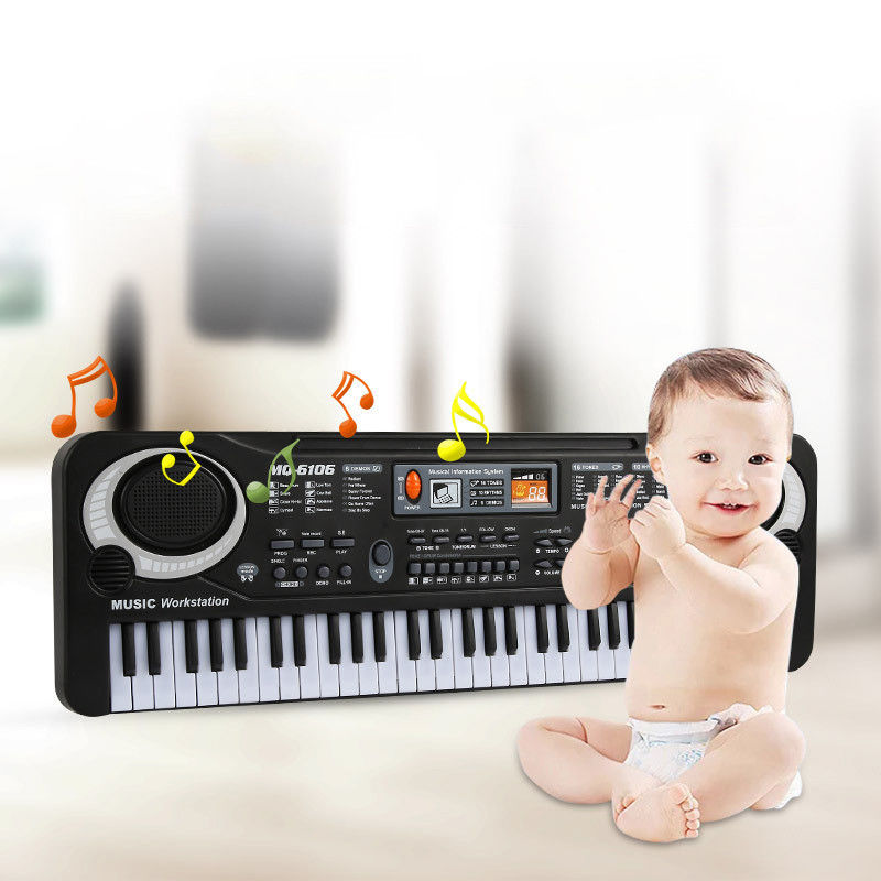 Portable 61 Key Multi-function Electronic Organ Music Piano Keyboard Organ Musical... by