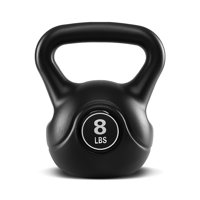 TKO Kettle Bell - Home Gym, Workout, Strength Training, Weight Lifting - 8 Lbs