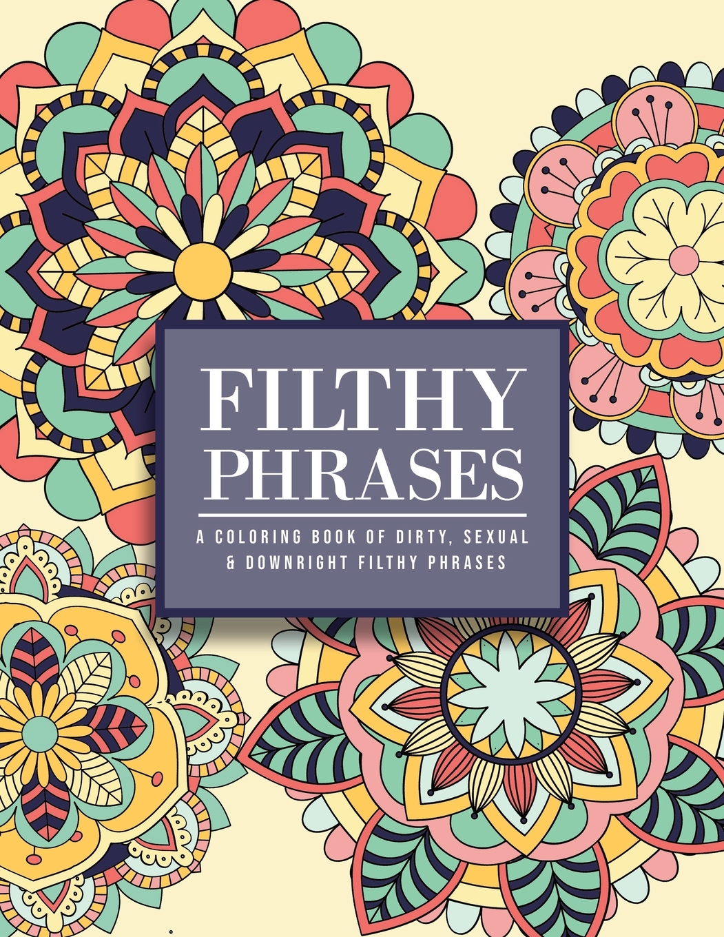 Filthy Phrases : An Adult Coloring Book Of Dirty, Sexual And Downright  Filthy Phrases (Paperback) - Walmart.com - Walmart.com