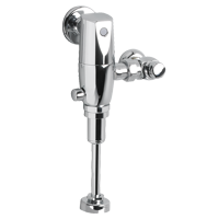 American Standard Selectronic Urinal Flush Valve AC Base Model Piston Type 1.0 GPF in Polished Chrome