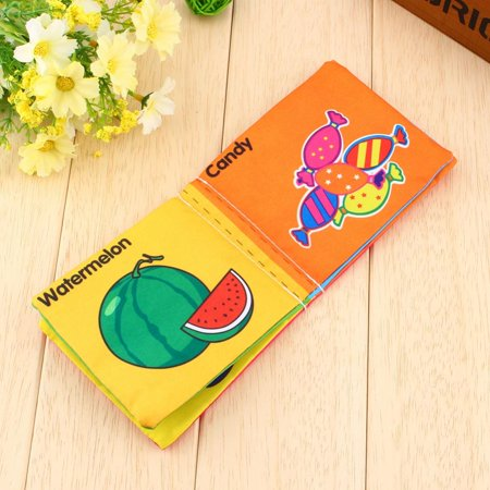Book Toy,YMIKO Educational Intelligence Development Soft Cloth Cognize Book Toy For Kids Baby,Educational Intelligence Development Soft Cloth Cognize Book Toy For Kids