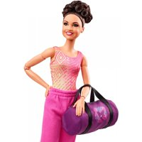 Barbie Laurie Hernandez Gymnast Doll with Themed Accessories