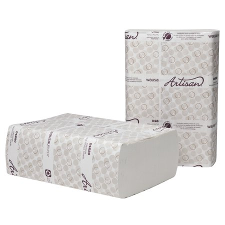 Wausau Paper Artisan Multi-Fold White Folded Towels, 250 count, (Pack of 12)