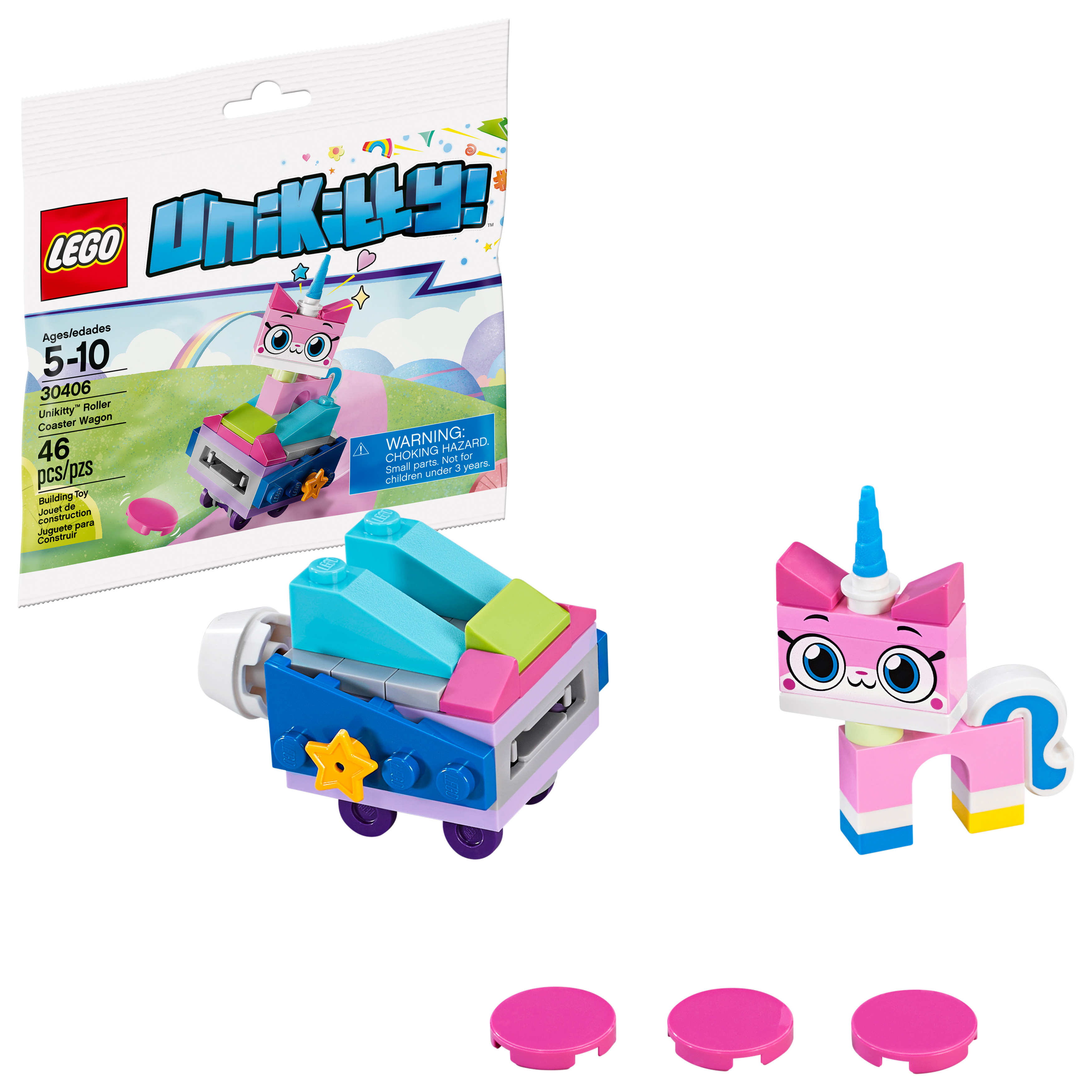 LEGO Recruitment Bags Unikitty™ Roller Coaster Wagon 30406