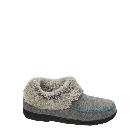 Felted Booties (Women's Felted Faux Wool Bootie Slippers )