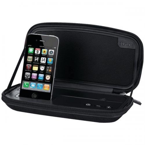 IHOME IP37BV IPhone(R)/iPod(R) Portable Speaker Case System