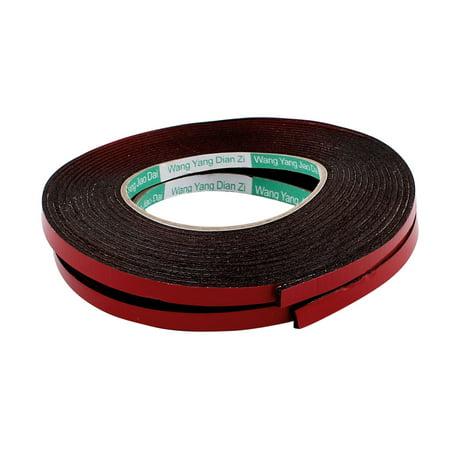 Double Stick Foam Tape (2 Pcs 8x2mm Double Sided Sponge Tape Adhesive Sticker Foam Glue Strip Sealing)