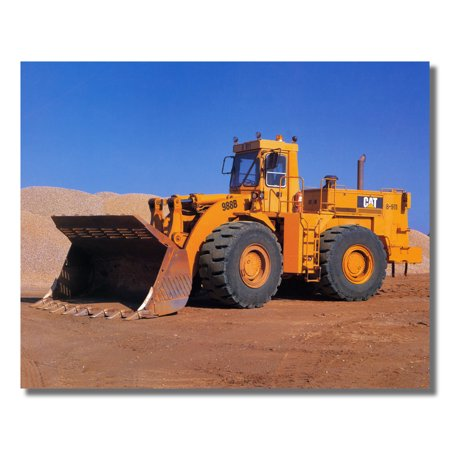 Top Loaders Photos (Caterpillar Model 988 Cat Heavy Wheel Loader Photo Wall Picture 8x10 Art Print )