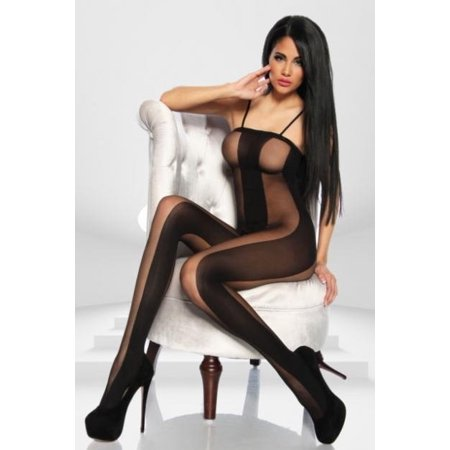 New Hot Women Sexy Mesh Fishnet Sexy Lingerie Body stocking Catsuit Sleepwear Bodysuit Nightwear - Full Body Catsuits