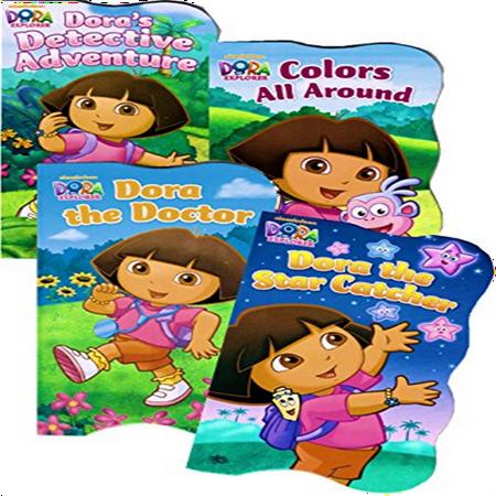 Dora the Explorer Board Books - Set of (4 Piece Dora)
