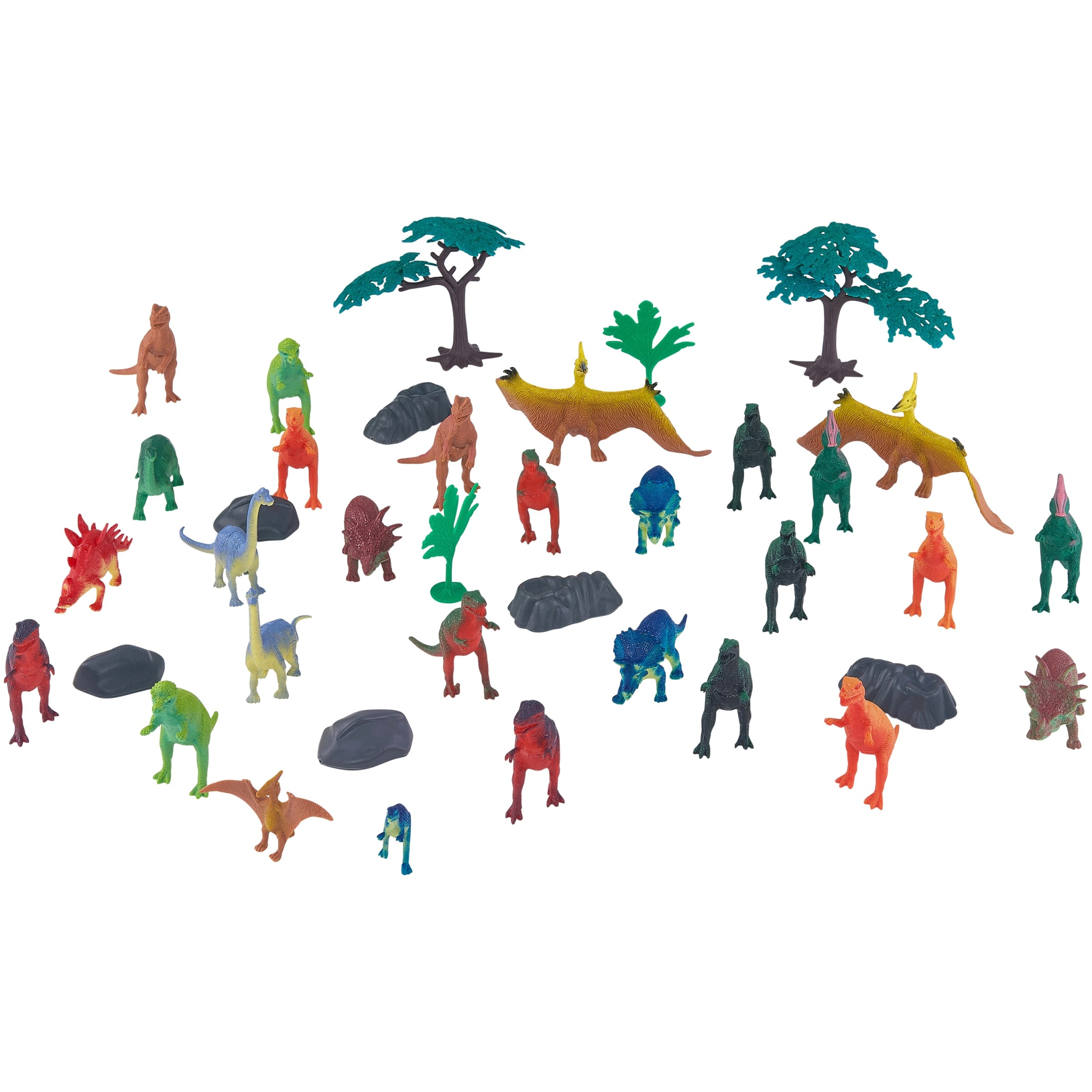 Adventure Force 40-Piece Dinosaur Big Bucket with Handle, Assorted