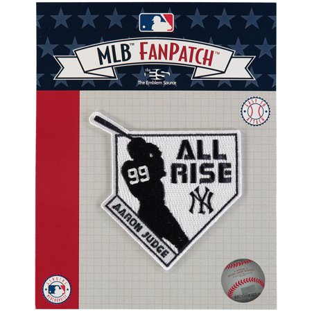 dc2ab63d3 Aaron Judge New York Yankees All Rise Silhouette Patch - No Size -  Walmart.com