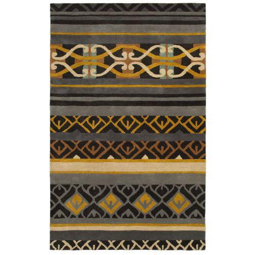 Rizzy Home PR8182 Pandora Hand-Tufted New Zealand Wool Rug