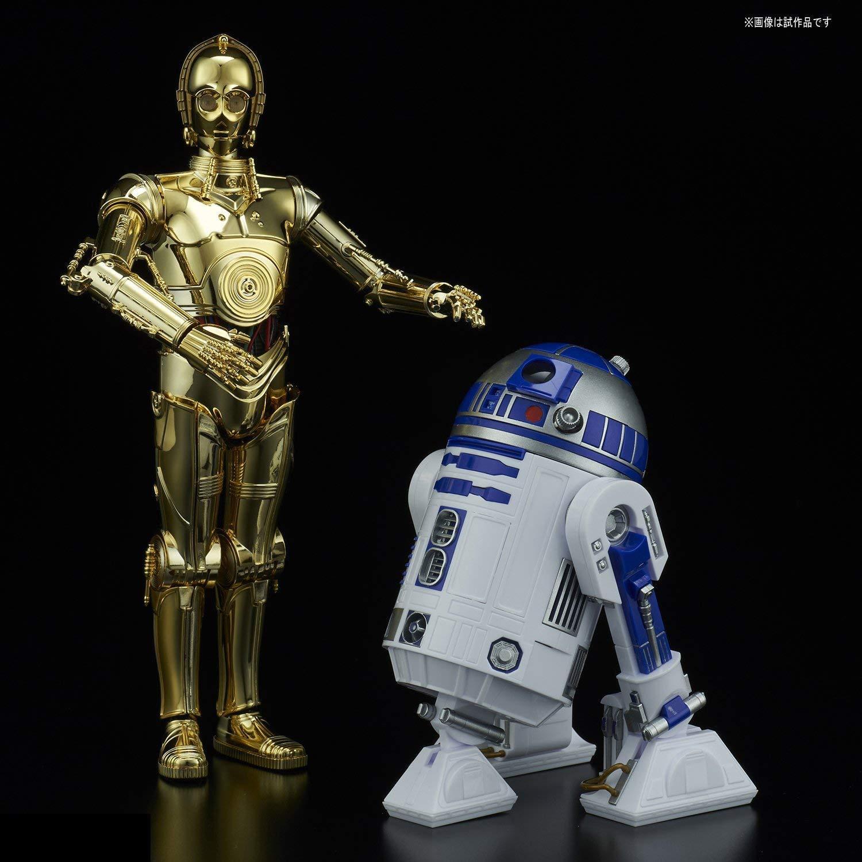 Bandai Star Wars C-3PO & R2-D2 1/12 Plastic Model Kit